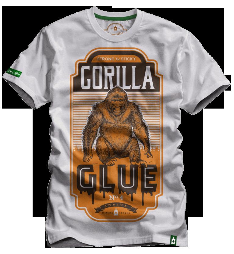Gorilla Glue Marijuana Strain T Shirts Cannabis Inspired Apparel